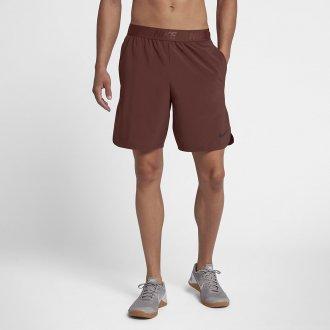Pánské šortky Nike Flex vínové