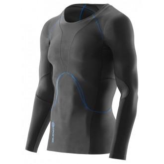 Pánské kompresní recovery triko Skins Bio RY400 Mens Graphite/Blue