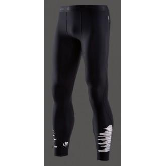 Pánské kompresní kalhoty Skins DNAmic Thermal Starlight Mens Long Tights Oblique