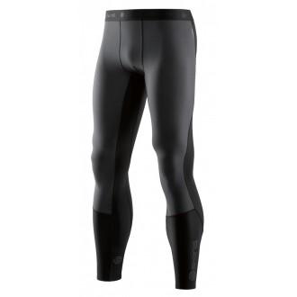 Pánské kompresní kalhoty Skins DNAmic Thermal Windproof Mens - black