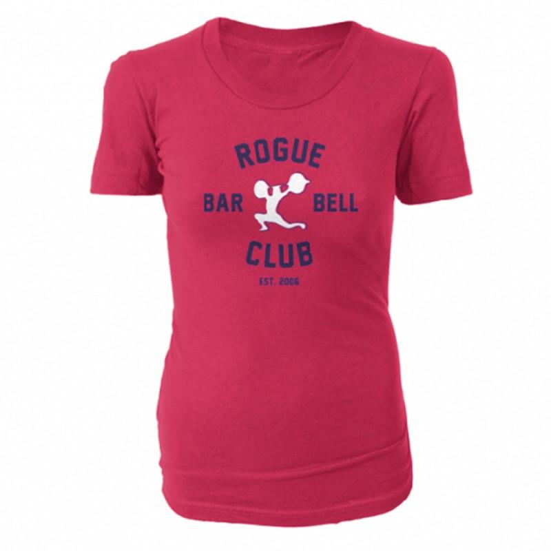 Dámské tričko Rogue Barbell Club 2.0 - červené