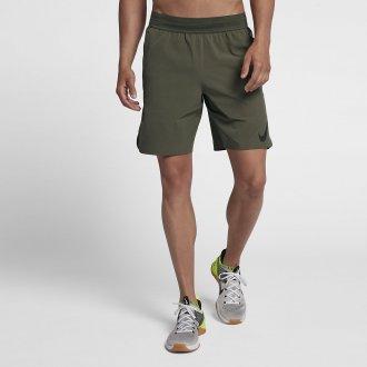 Pánské šortky Nike SHORT REPEL 3.0 - olivová