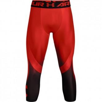 Pánské legíny Under Armour HeatGear Armour Hg 2.0 3/4 Legging - červené