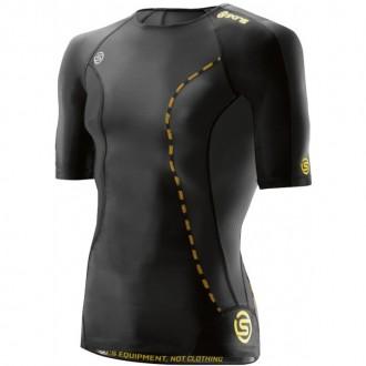 Pánské kompresní tričko Skins Black DA99050049001