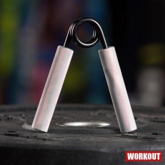 Ocelové posilovací kleště prstů a zápěstí odpor 23kg/50lb
