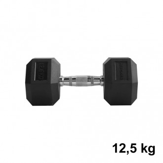 Jednoručka Hexhead Dumbbell Thornfit - 12,5 kg