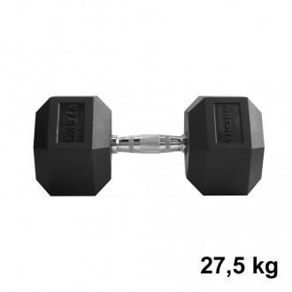 Jednoručka Hexhead Dumbbell Thornfit - 27,5 kg