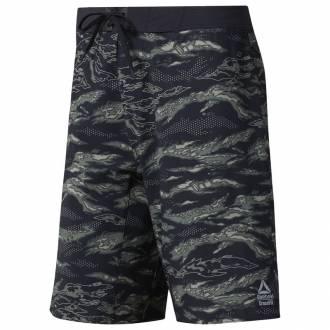 Pánské šortky Reebok CrossFit EPIC Cordlock - Camo - DP4579