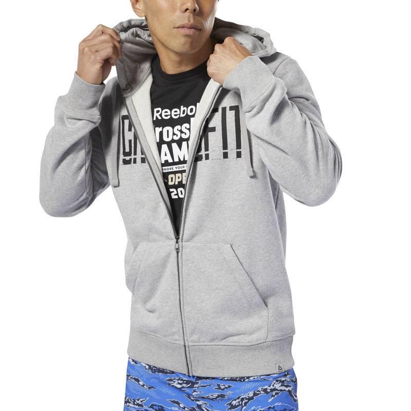 Pánská mikina Reebok CrossFit Zip Hoodie - DP6207