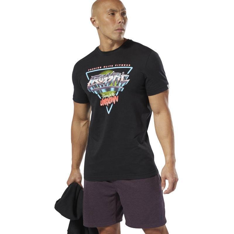 Pánské tričko Reebok CrossFit Neon Retro Tee - DP6211