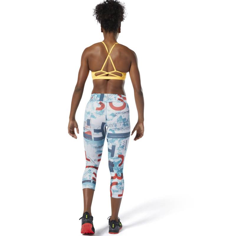 Dámské legíny Reebok CrossFit Lux 3/4 - Science - DQ0027