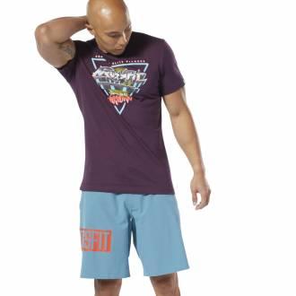 Pánské tričko Reebok CrossFit Neon Retro Tee - DT2818