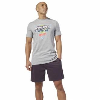 Pánské tričko Reebok CrossFit Neon Retro Tee - DT2819