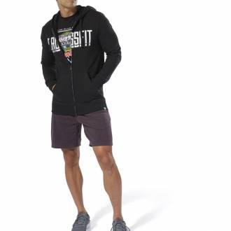Pánská mikina Reebok CrossFit Zip Hoodie - DU4614