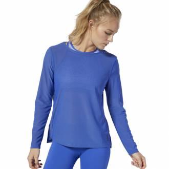 Dámské triko Reebok CrossFit Jacquard LS Tee - DU5102