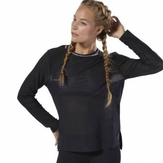 Dámské tričko Reebok CrossFit Jacquard LS Tee - DU5109