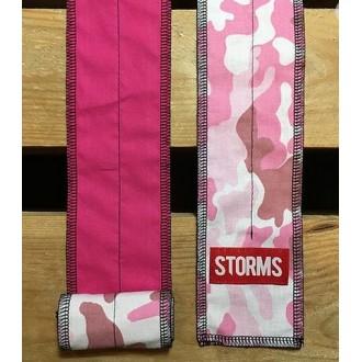 Zpevňovač zápěstí STORMS Wrist Wraps - Pink