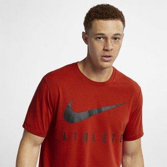 Pánské tričko Nike Athlete - červené
