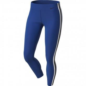 Dámské tréninkové legíny Nike Power 7/8 Elastic - modré