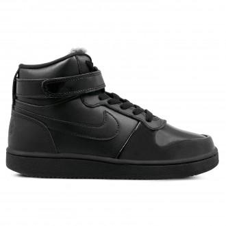 Dámské boty Nike EBERNON MID PREMIUM černé f0a5b0e9e8