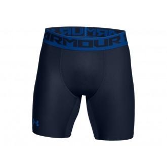 Pánské kompresní šortky Under Armour HeatGear 2.0 black blue ... 6874e23b84a