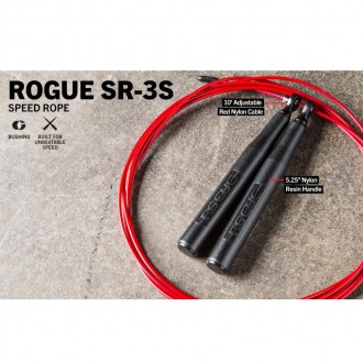Rogue SR-3S Short Handle Bushing Speed Rope