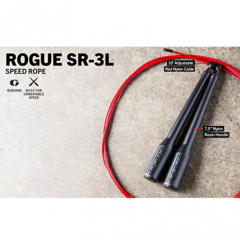 Rogue SR-3L Long Handle Bushing Speed Rope