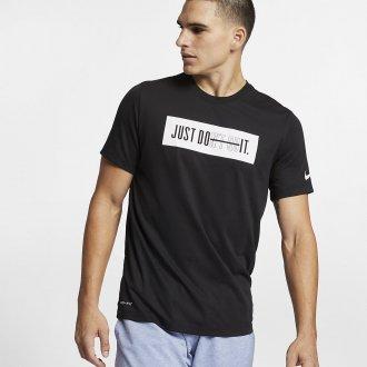 Pánské tričko Just dont quit Dry Training DB BAR - černé