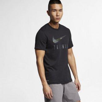 Pánské fitness tričko Nike TRAINING - černé
