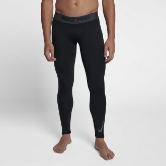 Pánské tréninkové legíny Nike thermal - černé