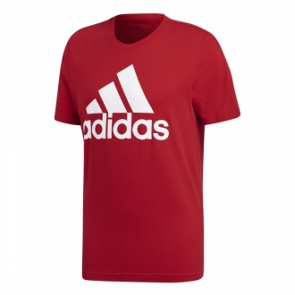 Pánské tričko adidas Performance ESSENTIALS  TEE červené