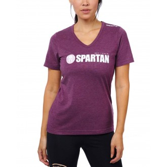 SPARTAN by CRAFT Classic Logo Tri-Blend SS Tee - Women