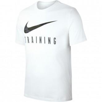Pánské tréninkové tričko Nike Training - bílé