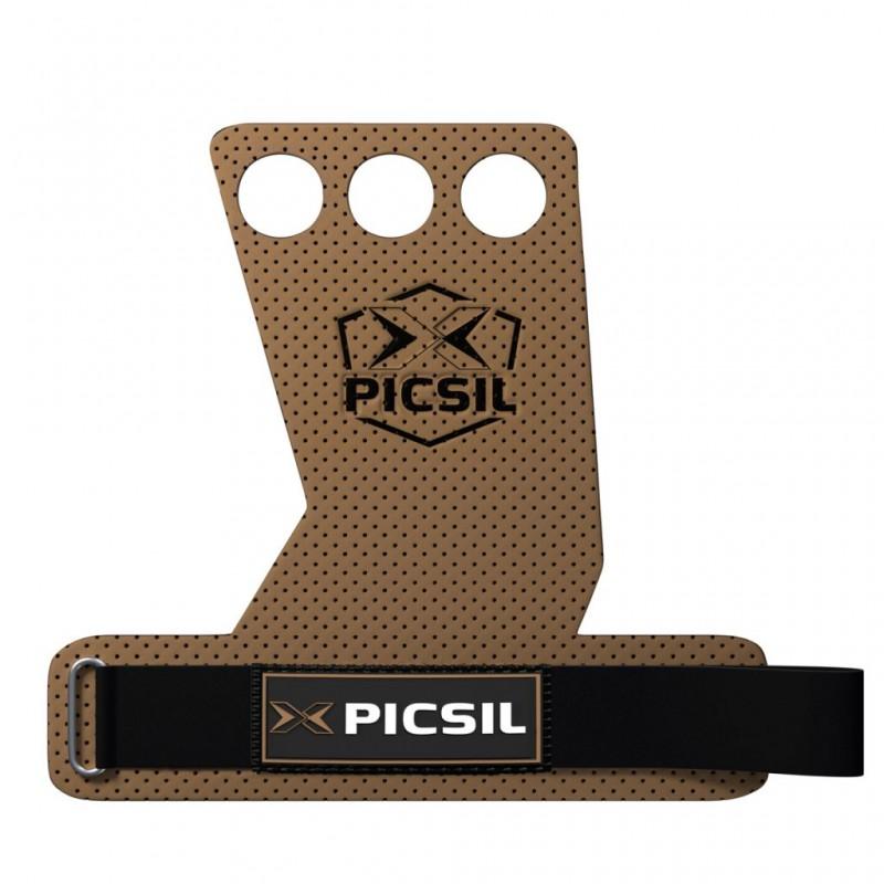 Mozolníky Picsil - Azor Grips - 3 prsté - hnědé