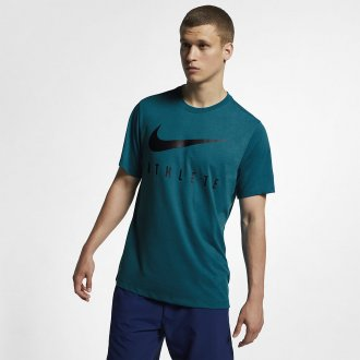 Pánské tričko Nike ATHLETE Dry Train - zelené