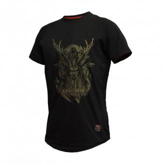 Pánské tričko ODIN ThornFit černé