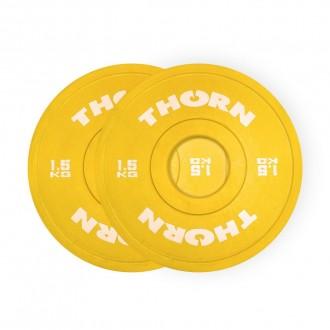 Frakční kotouče ThornFit - 2x 1,5 Kg