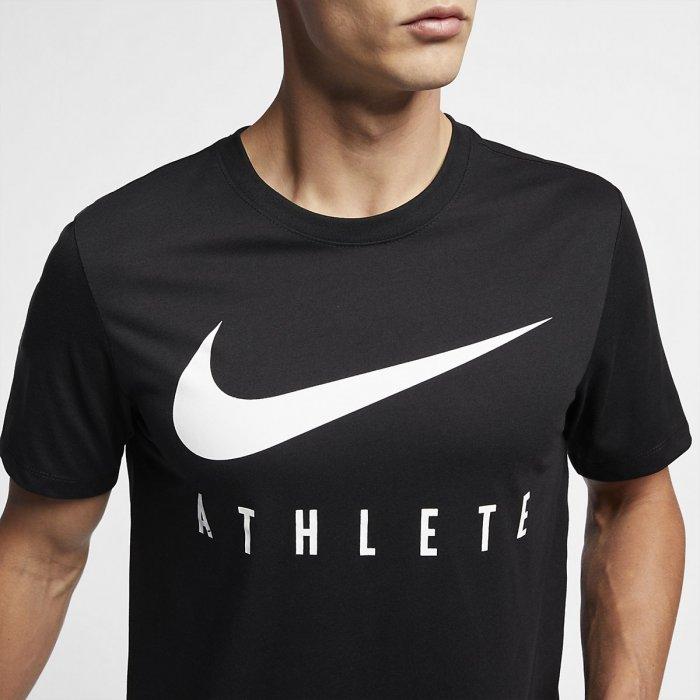 3568a708aa1a4 Pánské tričko Nike Athlete - černé - BotyObleceni.cz