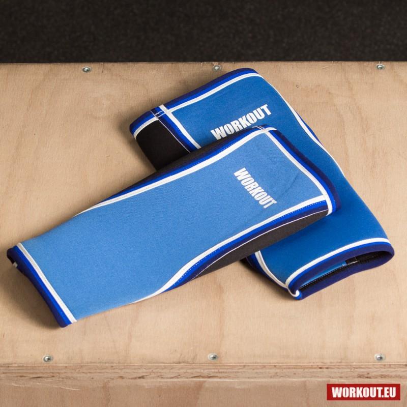 Chrániče holení WORKOUT - modré 5 mm (pár)