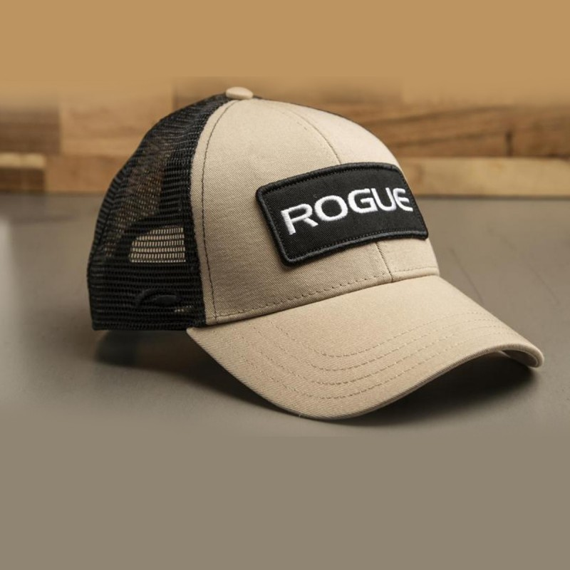 Kšiltovka Rogue Fitness Patch Trucker - hnědá