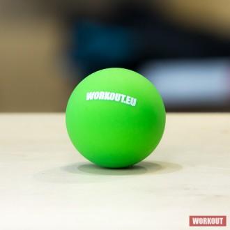 Masážní míček Lacrosse ball WORKOUT - zelený