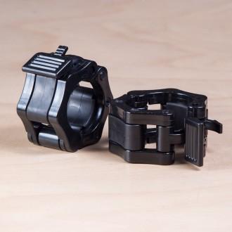 Plastový uzávěr na osu 50 mm - černé (pár)