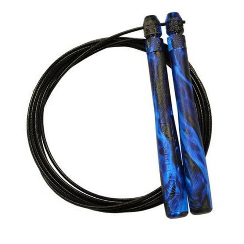 Švihadlo Speed Rope Elite SRS Bullet Comp Blue Flame