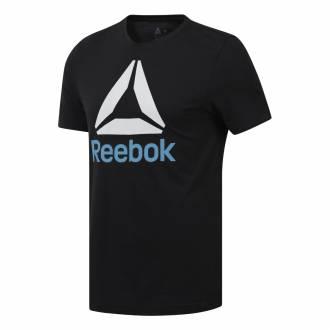Pánské tričko QQR- Reebok Stacked - DY7823