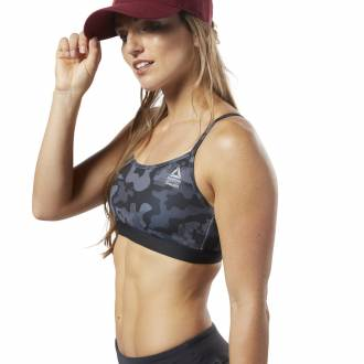 Podprsenka Reebok CrossFit Skinny Bra AOP - DY8414