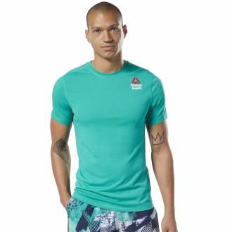 Pánské tričko Reebok CrossFit Games Active Chill + Cotton Tee - EC1389