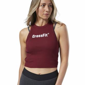 Dámský top Reebok CrossFit Authentic Crop Tank - EC1405