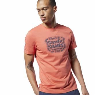 Pánské tričko Reebok CrossFit Distressed Crest Tee - EC1463
