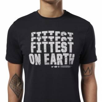 Pánské tričko Reebok CrossFit Fittest on Earth Tee - EC1464