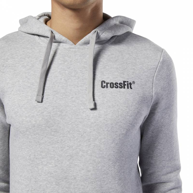 Pánská mikina Reebok CrossFit MOR Logo Hoodie - EC1468